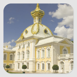 Russia. Petrodvorets. Peterhof Palace. Peter the 5 Square Sticker