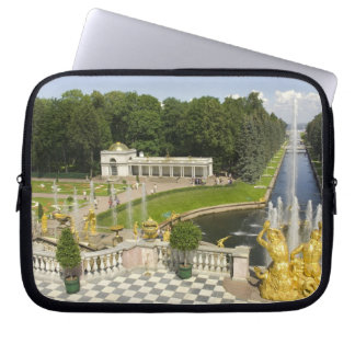 Russia. Petrodvorets. Peterhof Palace. Peter the Laptop Sleeve