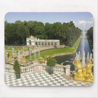Russia. Petrodvorets. Peterhof Palace. Peter the Mouse Mat