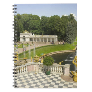 Russia. Petrodvorets. Peterhof Palace. Peter the Note Book