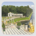Russia. Petrodvorets. Peterhof Palace. Peter the Square Stickers