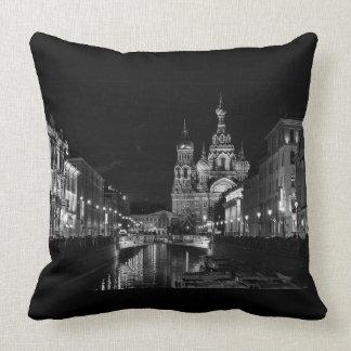 Russia Pillow - St. Petersburg Throw Pillow