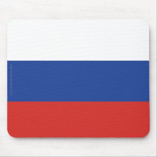 Russia Plain Flag Mouse Pad
