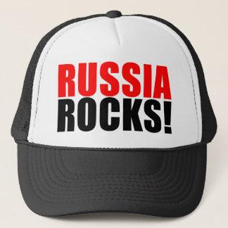 RUSSIA ROCKS TRUCKER HAT