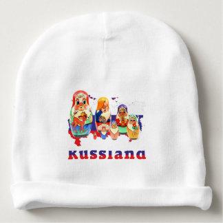 Russia - Russia babushka - Matrjoschka cap Baby Beanie