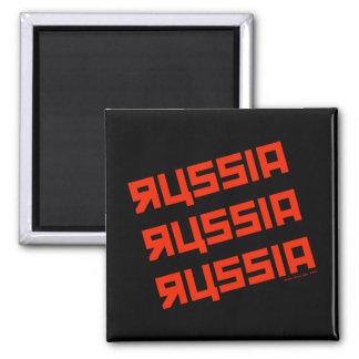 RUSSIA RUSSIA RUSSIA SQUARE MAGNET