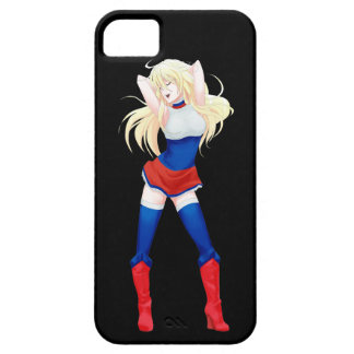 Russia Russian Manga Flag girl Barely There iPhone 5 Case