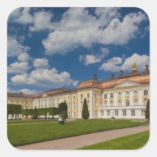 Russia, Saint Petersburg, Peterhof, Grand Palace 2 Square Sticker