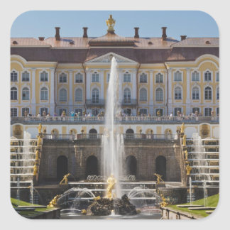 Russia, Saint Petersburg, Peterhof, Grand Palace Square Sticker