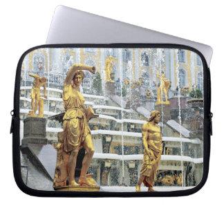 Russia, Saint Petersburg, Peterhof, Samson and Laptop Sleeve