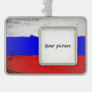 Russia Silver Plated Framed Ornament