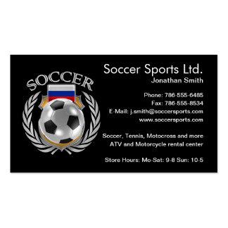 Russia Soccer 2016 Fan Gear Pack Of Standard Business Cards