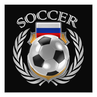 Russia Soccer 2016 Fan Gear Photographic Print