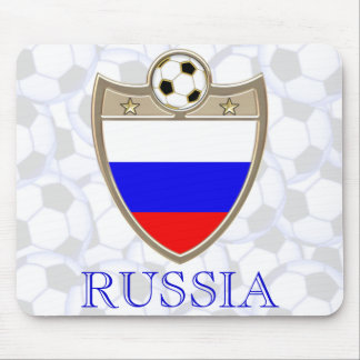 Russia Soccer Mouse Pad