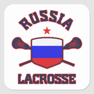 Russia Square Sticker