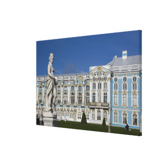 Russia, St. Petersburg, Catherine's Palace (aka 3 Canvas Print