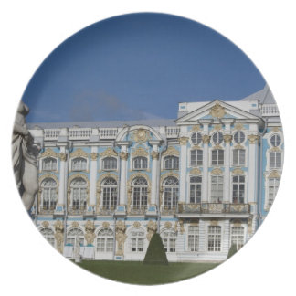 Russia, St. Petersburg, Catherine's Palace (aka 3 Dinner Plate