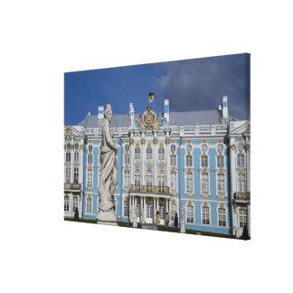 Russia, St. Petersburg, Catherine's Palace (aka 5 Canvas Print