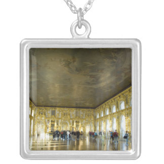 Russia, St. Petersburg, Catherine's Palace (aka 8 Silver Plated Necklace