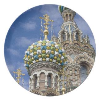Russia, St. Petersburg, Nevsky Prospekt, The Dinner Plate