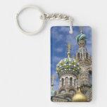 Russia, St. Petersburg, Nevsky Prospekt, The Double-Sided Rectangular Acrylic Key Ring