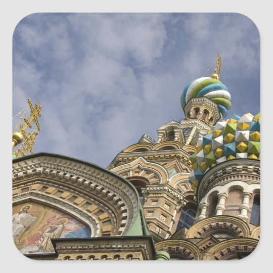 Russia, St. Petersburg, Nevsky Prospekt, The Square Sticker