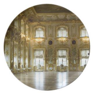 Russia, St. Petersburg, Peterhof Palace (aka 2 Dinner Plates