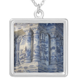 Russia, St. Petersburg, Pushkin, Catherine's 2 Silver Plated Necklace