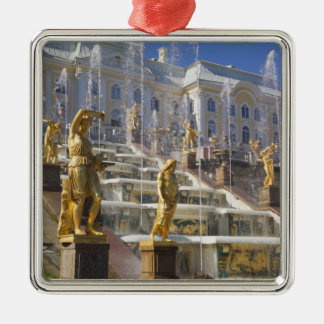 Russia, St. Petersburg, The Great Cascade, Christmas Ornament