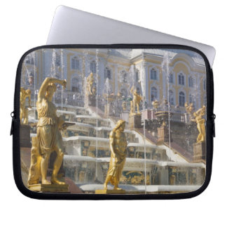 Russia, St. Petersburg, The Great Cascade, Laptop Sleeve
