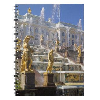 Russia, St. Petersburg, The Great Cascade, Spiral Notebooks