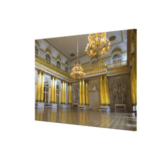 Russia, St. Petersburg, The Hermitage (aka 4 Canvas Print