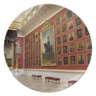 Russia, St. Petersburg, The Hermitage (aka 5 Dinner Plates