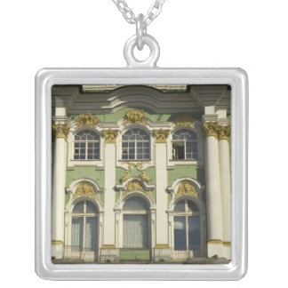 Russia. St Petersburg. Winter Palace. Hermitage Silver Plated Necklace