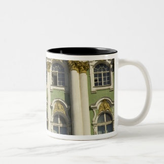 Russia. St Petersburg. Winter Palace. Hermitage Two-Tone Coffee Mug