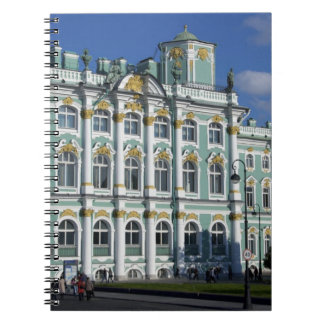 Russia, St. Petersburg, Winter Palace, The 2 Note Books
