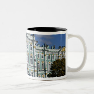 Russia, St. Petersburg, Winter Palace, The 2 Two-Tone Coffee Mug
