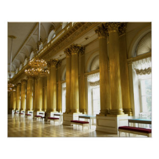 Russia, St. Petersburg, Winter Palace, The 3 Poster