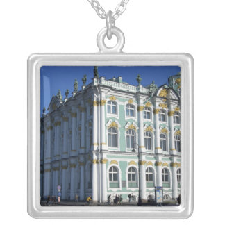 Russia, St. Petersburg, Winter Palace, The 4 Silver Plated Necklace