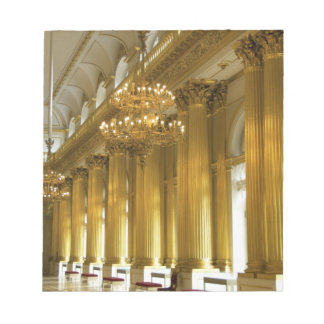 Russia, St. Petersburg, Winter Palace, The Notepad