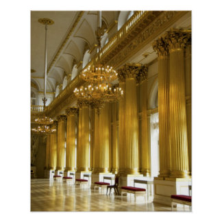 Russia, St. Petersburg, Winter Palace, The Poster