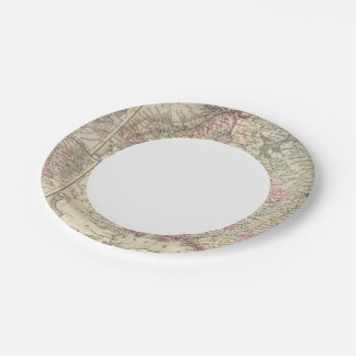 Russia, Sweden, Norway 2 Paper Plate