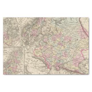 Russia, Sweden, Norway 2 Tissue Paper
