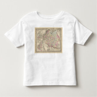 Russia, Sweden, Norway 2 Tshirts