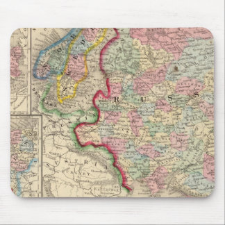 Russia, Sweden, Norway Map by Mitchell Mousepad
