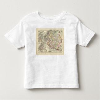 Russia, Sweden, Norway Tshirt