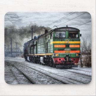 Russia Train Locomotive Mouse Pads