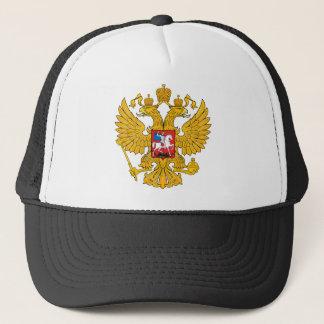 Russia Two Headed Eagle Trucker Hat