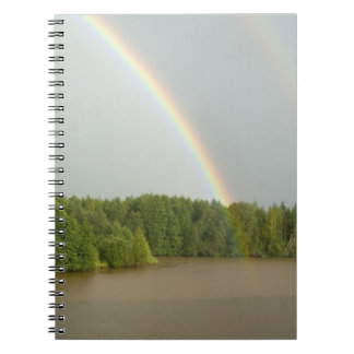 Russia, Typical river views between Goritzy & Spiral Notebook
