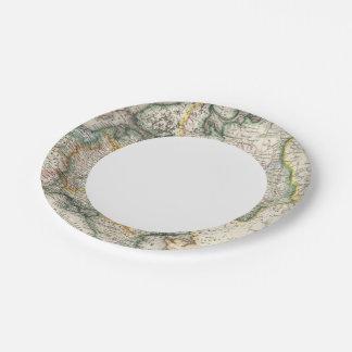 Russia, Ukraine Paper Plate